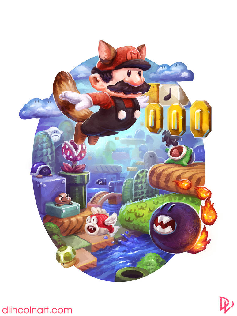 Super Mario Bros. 3 by dlincoln83