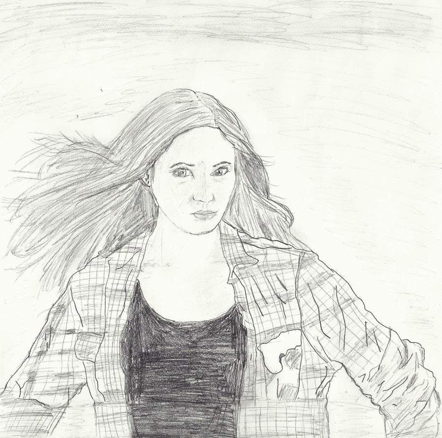 Pond Drawing Amy pond drawing- scannedSimple Pond Drawing