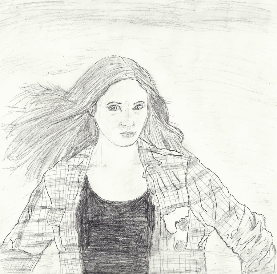 How To Draw Amy Pond