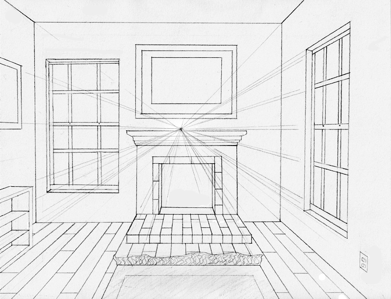 kitchen 1 point perspective. onepoint perspective by midni6htf4iry kitchen 1 point p