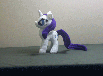 Rarity's Terrifying Head Spin by Verrivitus