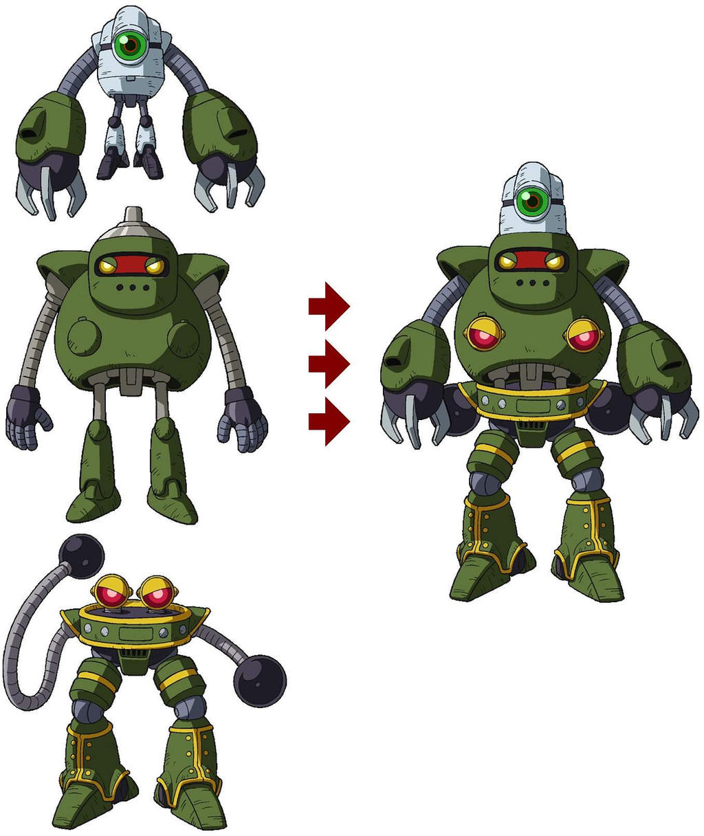 Anyone Else Feel The Robots From Universe 3 Are A Huge Let