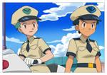 Pokemon TG - Officers in Unova