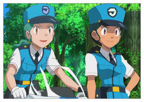 Pokemon TG - Officers in Kalos by Marypuff