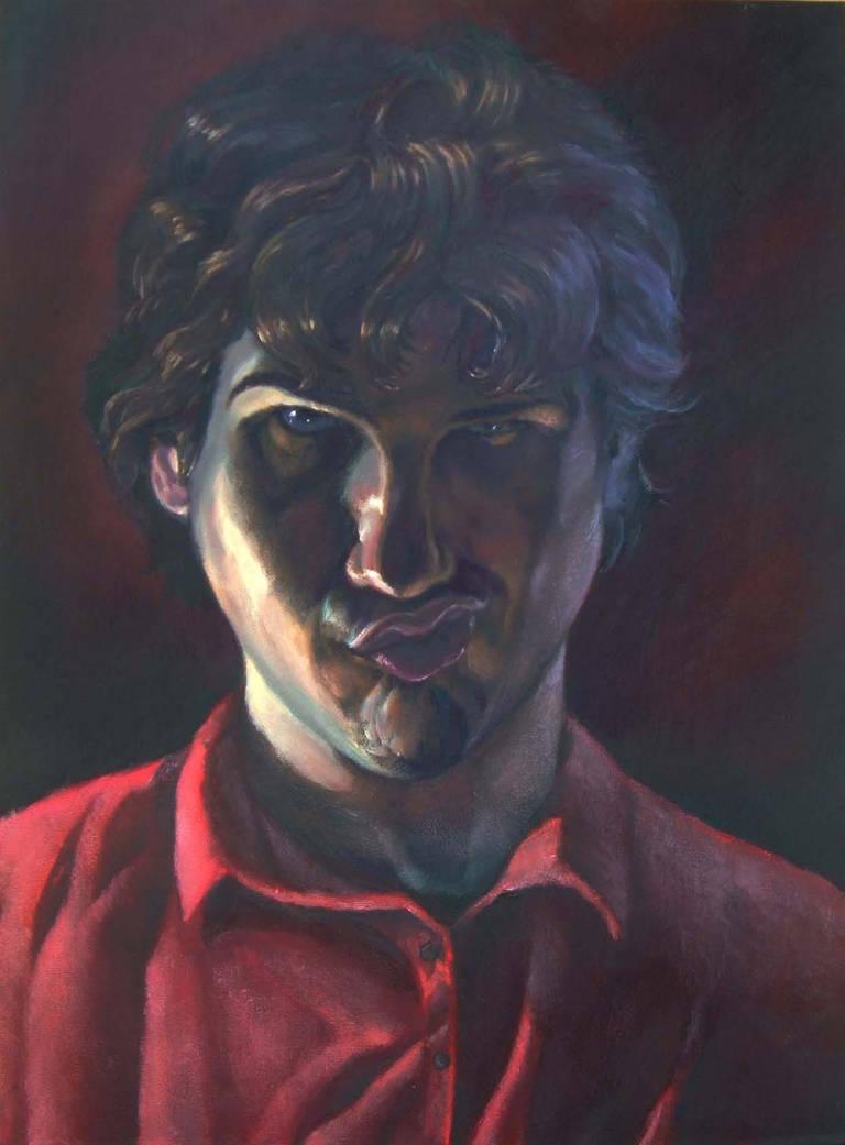 Smirking Self-Portrait