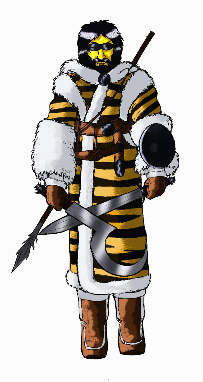 Okar warrior by Spearhafoc