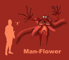 Man-Flower by Spearhafoc