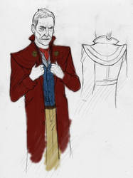 Peter Capaldi Doctor Costume by Spearhafoc