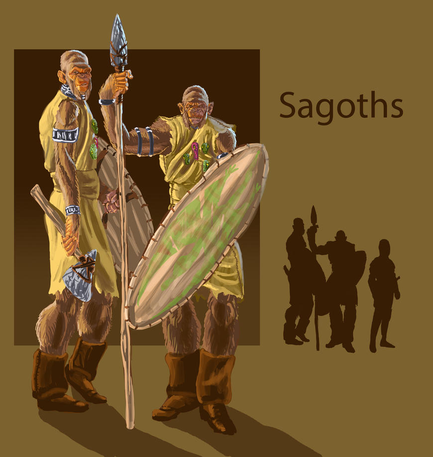 Sagoths by Spearhafoc