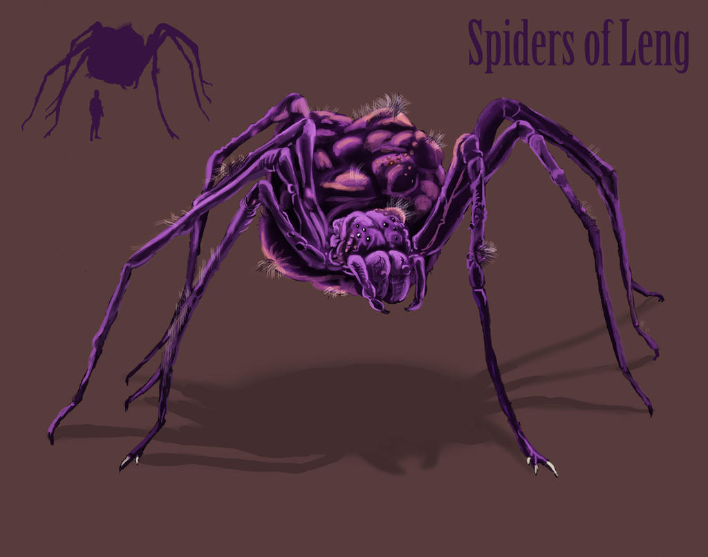 Spiders of Leng by Spearhafoc