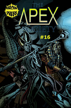 The Apex Society #16 Cover