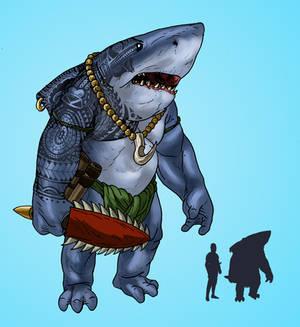 Counter-Earth - Shark-Folk