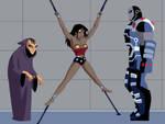 Wonder Woman Captured by Darkseid