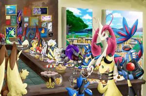 The big banquet / El gran banquete by Nikkoamphy