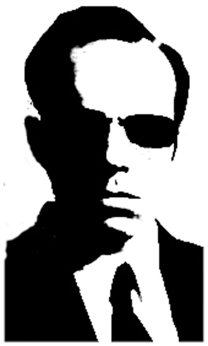 Famous Stencil Art Agent Smith By Domi107