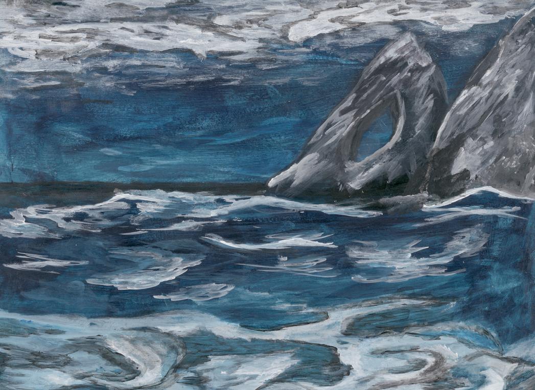 Dark Ocean by raejekii