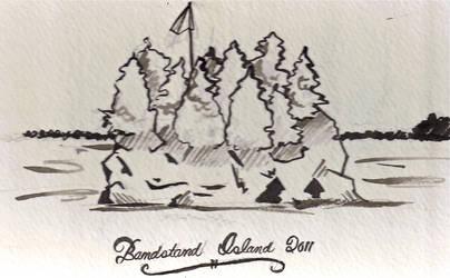 Bandstand Island by tofu-bot