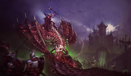 Vampire Count - Warhammer Fanart