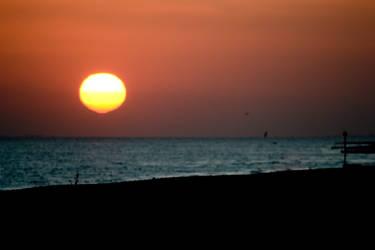 Worthing Sunset 2 by steviebuk2000