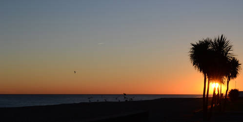 Worthing sunset 4 by steviebuk2000