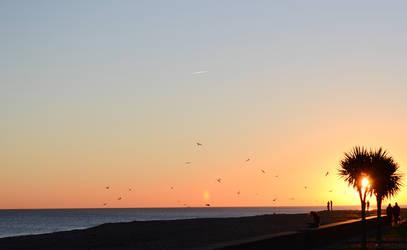 Worthing sunset 5 by steviebuk2000