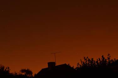 Night Sky by steviebuk2000