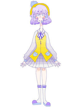 UTAU NeonGaru Harue OFFICIAL ART