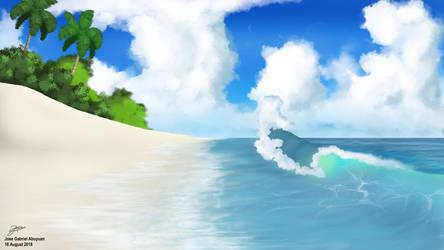 Azure Waters by joeabuy1000
