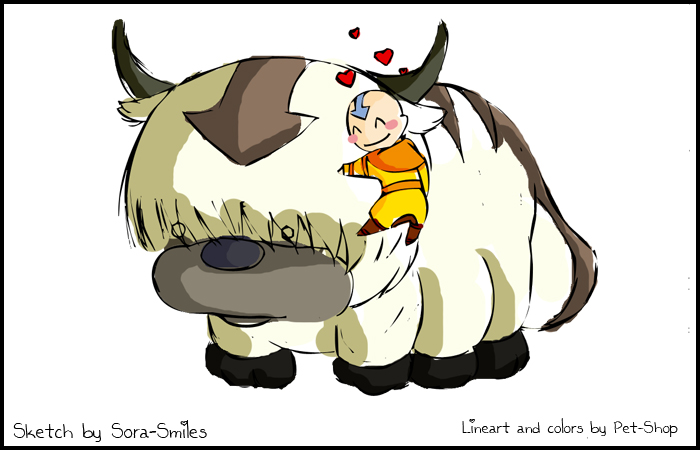 Appa And Aang Collab By Pet Shop