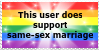 Support Same sex marriage by Life-is-the-bubbles