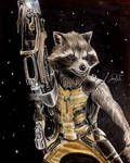 Rocket Colored drawing