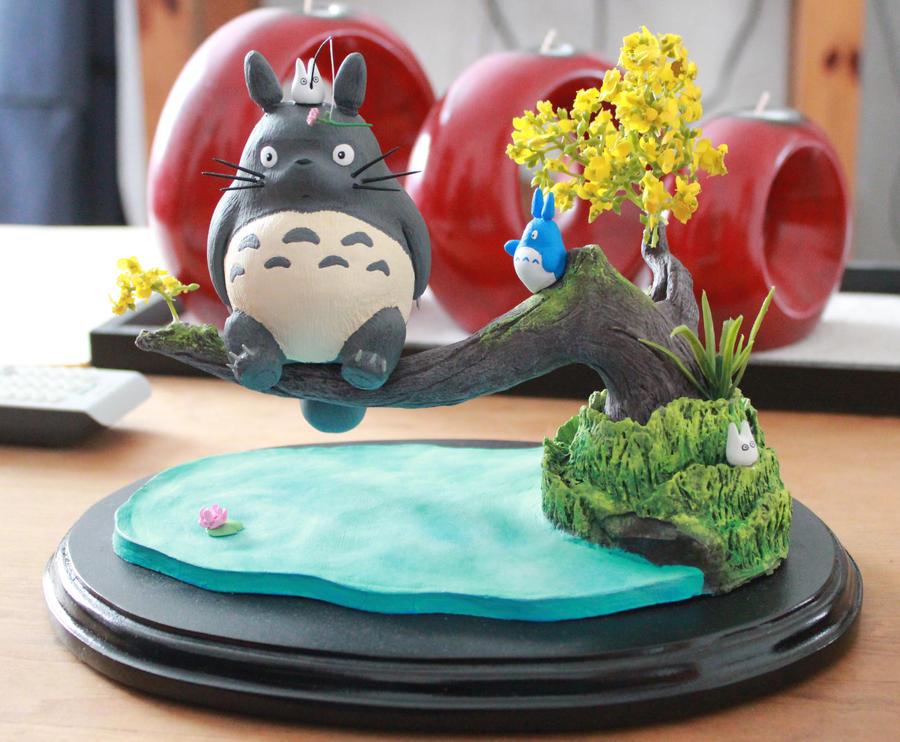 Totoro by gatomontachikawa