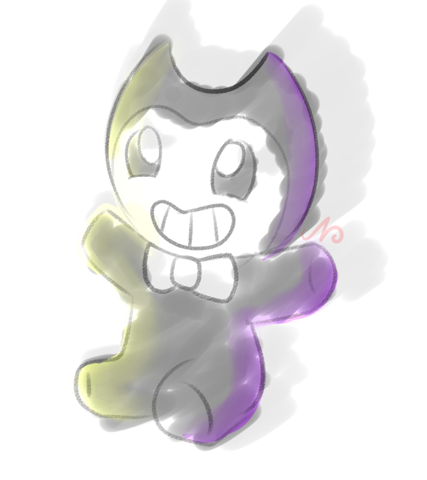 Bendy Plushie by TheRealNeolize