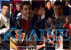 I Love Klaine - Wallpaper by Murthyna