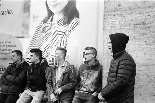 boys - Berlin, 2015.