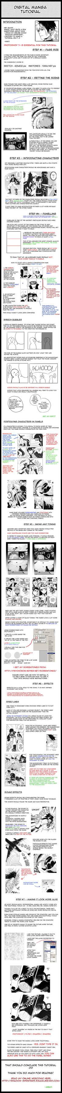 Digital Manga Tutorial