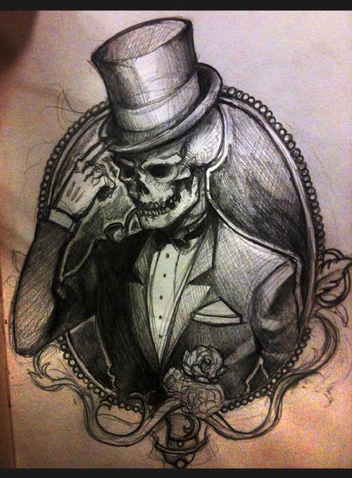 Dapper Skeleton by Minyi