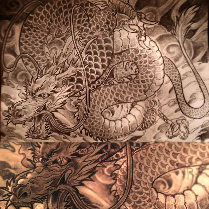 Dragon by Minyi