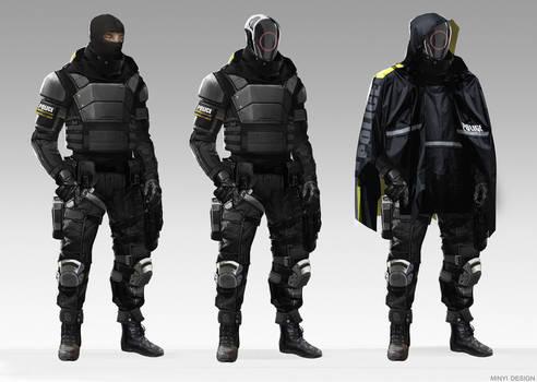 London 2040 - Hive Police
