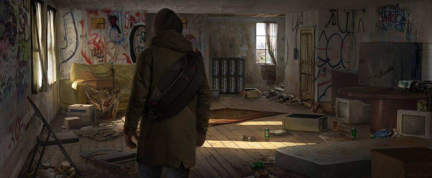 London 2040 - Shelter room