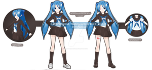 .:Model DL:. LAT PD-Style Rolling Girl Miku