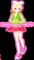 .:Model DL:. LAT Mirai-Style Melancholic Rin by MMDAnimatio357