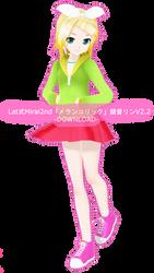 .:Model DL:. LAT Mirai-Style Melancholic Rin