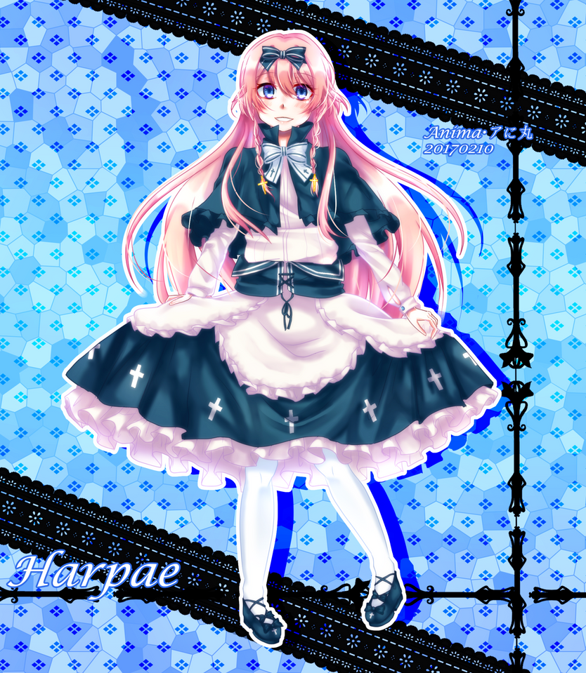 .:Art Trade(with KIRIN/KareUsa):. Harpae by MMDAnimatio357