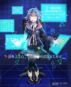 .:Drawing:. Hello, Gamemaster_
