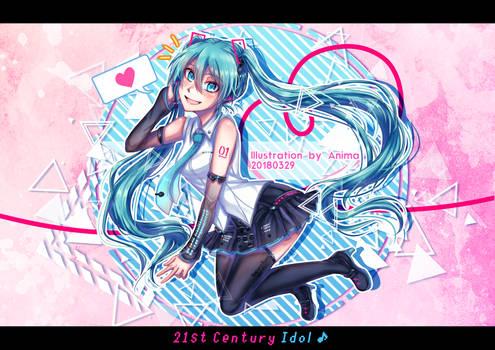 .:Drawing:. 21st Century Idol!