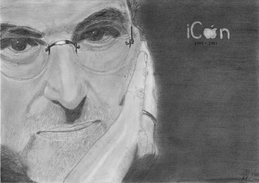 iCon - Steve Jobs by demik13