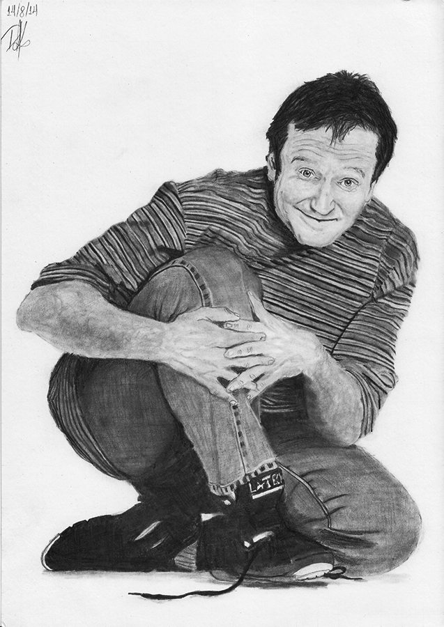 Robin Williams by demik13