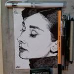 #10 Audrey Hepburn