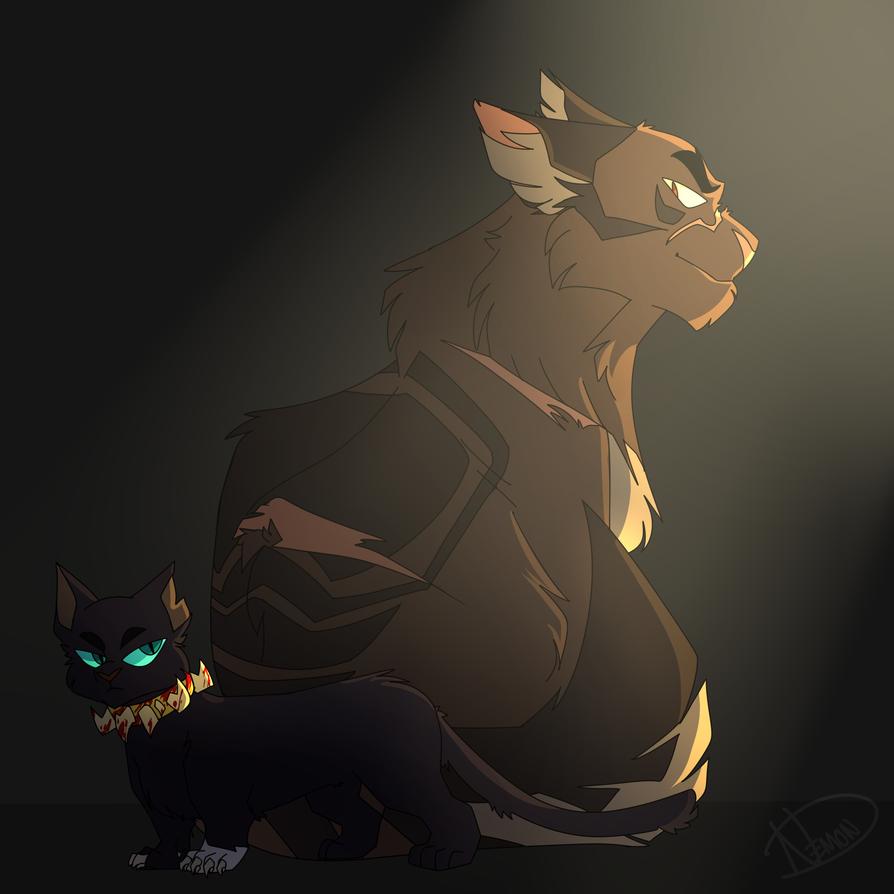 Scourge And Tigerstar By Nakarathedemon On Deviantart